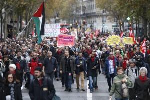 Grandes movilizaciones estudiantiles contra la represión y el ajuste