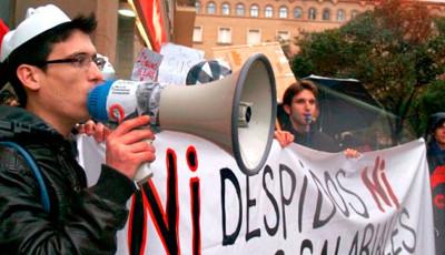 """El régimen político es también el """"régimen sindical"""" del '78"""