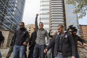 Cuatro años de cárcel para 'Alfon', joven activista de los 'Bukaneros' de Madrid