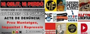 Basta de montajes, impunidad y represión