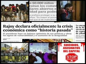 """Diez datos que el gobierno español oculta cuando afirma que """"la crisis ya es historia"""""""