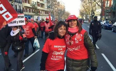 """Gema, luchadora de Coca Cola: """"Tu vida cambia, pero merece la pena"""""""