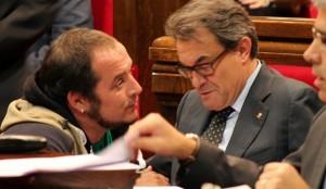 Artur Mas y David Fernandez