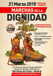 21M: Las marchas de la dignidad vuelven a Madrid