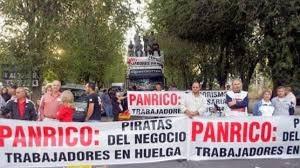 Trabajadores de Panrico se concentran ante la sede de CCOO en Cataluña