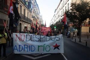 Tres semanas de huelga indefinida en Madrid Río