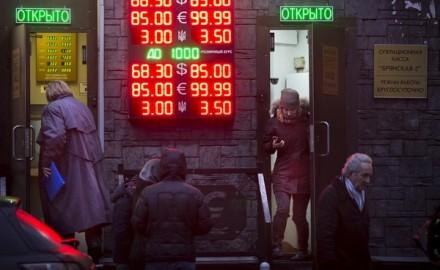 El rublo se desmorona