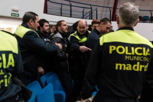 Diecinueve detenidos por protesta antidesahucios en Madrid