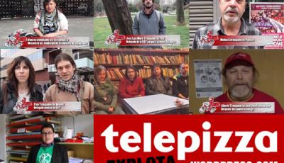 Apoyos a la candidatura de CGT en Telepizza Zaragoza