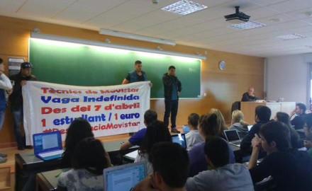 La lucha de Movistar llega al campus más grande de Barcelona