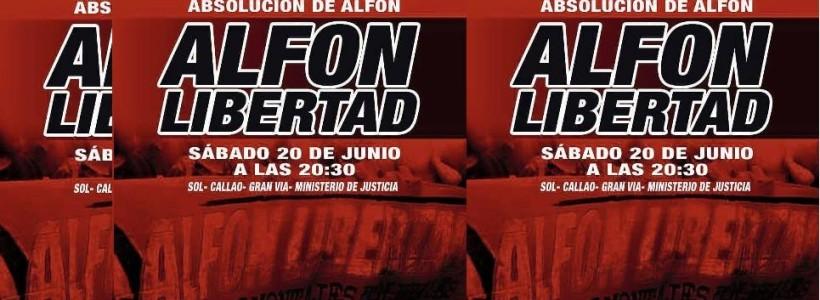 #AlfonLibertad Manifestaciones en todo el Estado