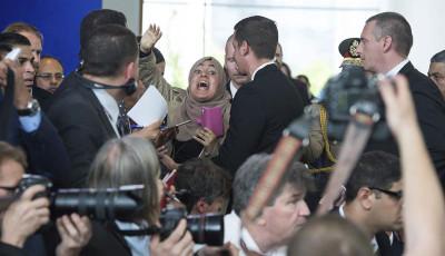 El dictador Al Sisi visita Alemania entre protestas y denuncias