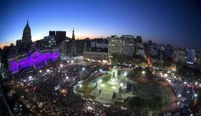 Cientos de miles por #NiUnaMenos