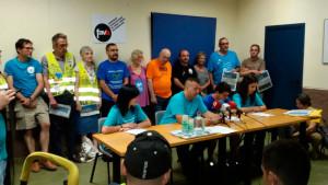 Trabajadores de Movistar vuelven al trabajo para una 'nueva fase' de su lucha