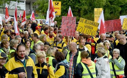 Luchas obreras en Alemania