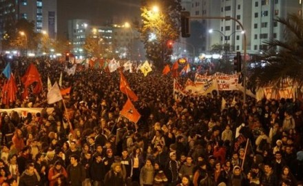 Movilizaciones Chile