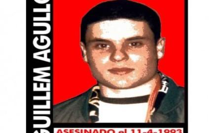 Antifascistas a la cárcel, y los neonazis asesinos de Guillem Agulló, absueltos
