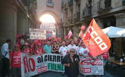 Coca-Cola sigue violando las sentencias judiciales, los trabajadores siguen la lucha