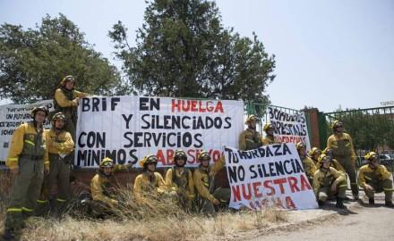 Comienza huelga indefinida de bomberos forestales en el Estado español