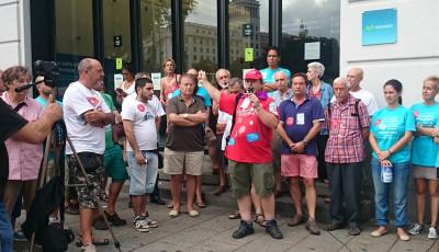 La lucha de Telefónica-Movistar vuelve a la calle