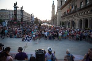manifestación contra ley mordaza