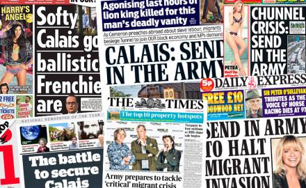 """La """"crisis migratoria"""" y el racismo del imperialismo británico"""