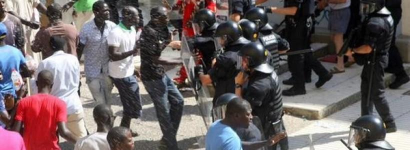 muere inmigrante persecución policial