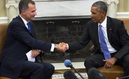 """""""Bienvenido Mr Obama"""": Felipe VI y el respaldo de EE. UU. contra el 27S catalán"""