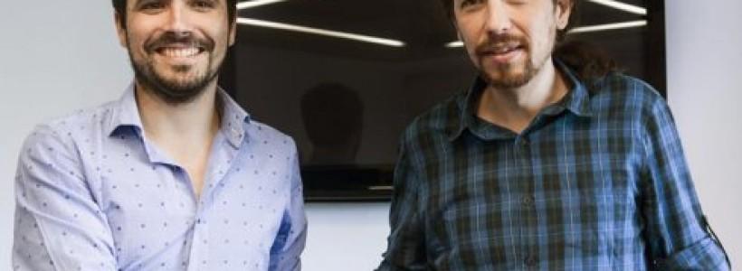 Pablo Iglesias negocia con IU candidatura unitaria para las generales españolas
