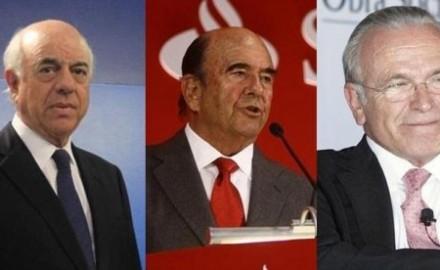 """El """"Club de los tres"""" banqueros que concentran más del 60% del mercado financiero"""