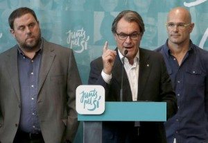 Repercusiones políticas de la Imputación de Artur Mas