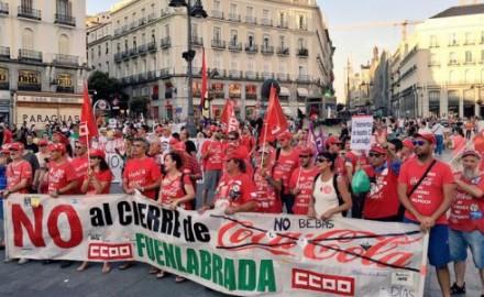 """¿""""Pucherazo"""" en la Audiencia Nacional? Denuncia de los trabajadores de Coca-Cola"""