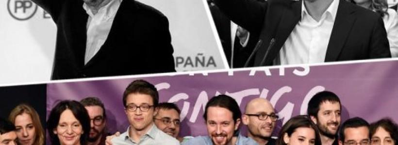 El ascenso de Podemos, izquierdización electoral y problemas para la regeneración del Régimen