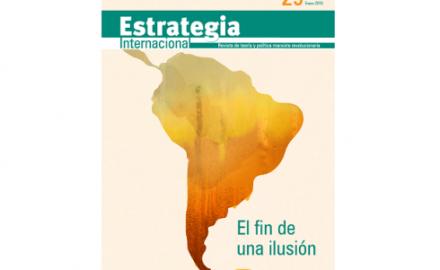 Salió la revista Estrategia Internacional