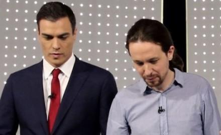 Sánchez más cerca de La Moncloa, Podemos más lejos del referéndum