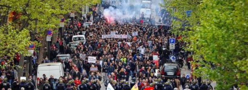 Una nueva pesadilla comienza a preocupar a la burguesía francesa: el anticapitalismo