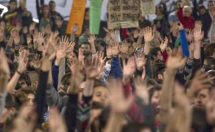 El 15M volvió a llenar la Puerta del Sol en Madrid