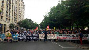Duodécima jornada de lucha en Francia: contra la reforma laboral y el decretazo de Hollande