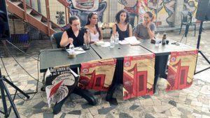Debate sobre 'Feminismo y lucha de clases' en Italia con la participación de Pan y Rosas