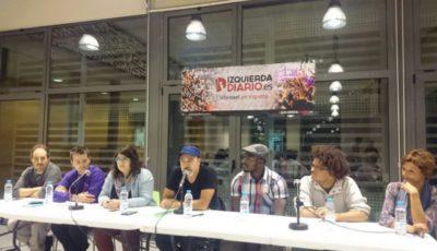 Gran acto en Barcelona para celebrar el primer aniversario de Izquierda Diario