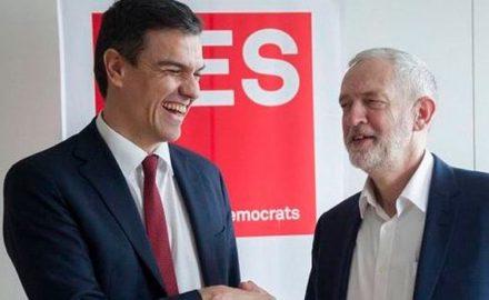 La crisis del PSOE y la debacle de la socialdemocracia europea