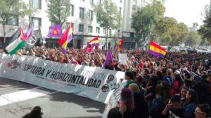 Masiva huelga estudiantil en todo el Estado contra las reválidas franquistas