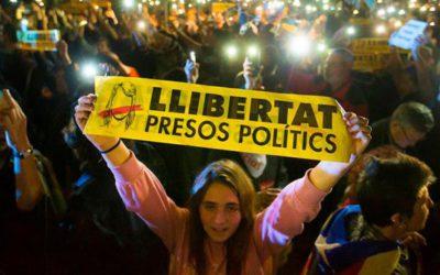 Se endurece el golpe contra Catalunya: ¡Libertad presos políticos! ¡Huelga General Ya!