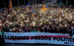 ¡Libertad a los presos políticos! Por una Huelga General en Catalunya y movilizaciones contra el Régimen del 78 en todo el Estado