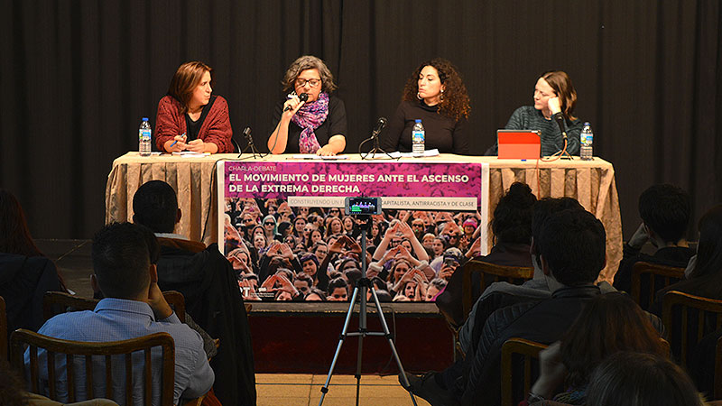 """""""El feminismo no puede ser otra cosa que anticapitalista, antirracista, antifascista y de clase"""""""